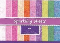 JEJE A4 Sparkling Sheets Seashell  8.6950 Wit/Roze
