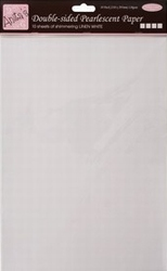 Anita's A4 Parelmoer papier ANT1730105 wit