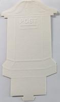 Stanskaart brievenbus 2635-23 rood