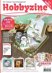 Hobbyzine Plus 13 + Precious Marieke Die PM 10075 swirl