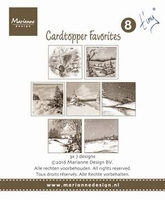 MD Card toppers sepia favourites CT1508 Tiny 2