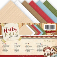 Yvonne Creations Linnenpakket 4K YC10011 Holly Jolly