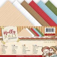 Yvonne Creations Linnenpakket A5 YC10011 Holly Jolly