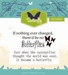 Stempel Yvonne Creations YCCS10024 Butterfly