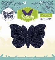 Yvonne's Die YCD10066 Butterfly