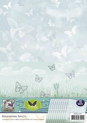 Background vel SETBGS10004 Butterfly