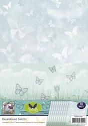 Background vel SETBGS10004 Butterfly
