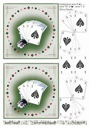 A4 DOTS Knipvel Barto Design 67349 Speelkaarten