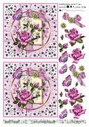A4 DOTS Knipvel Barto Design 67471 Roos roze