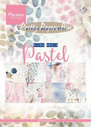 MD Pretty Paper Bloc PK9141 Mixed media pastels