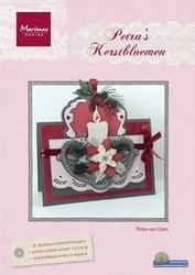 MD Petra's Kaarten BR1406 Kerstbloemen NL