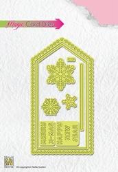 Nellie's Magic Card Die MCD001 Christmas Card 1
