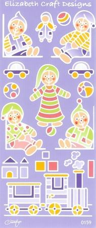 Creatip setje contourstickers + contourknipvellen Baby