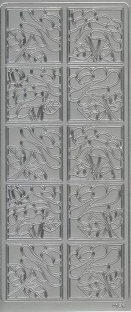 Creatip setje contourstickers + contourknipvellen Bloem 2