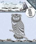 Amy Design Die Wintertide  ADD10083 Owl/uil
