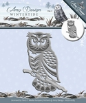 Amy Design Die Wintertide  ADD10083 Owl/uil