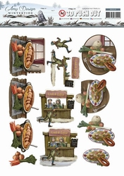 3D Stansvel Amy Design SB10129 Wintertide Winterfood