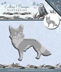 Amy Design Die Wintertide  ADD10084 Fox/vos