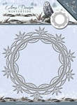 Amy Design Die Wintertide  ADD10079 Ice Crystal Frame