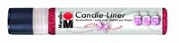 Marabu Candle Liner 180509 538 Robijn Glitter
