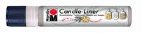 Marabu Candle Liner 180509 782 Zilver Metallic