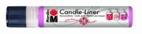 Marabu Candle Liner 180509 133 Roze