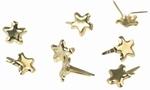 Rayher Splitpennen sterretjes glanzend 7835222 zilver