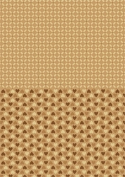 A4 Vel Nellie's Background Neva001 Brown hearts