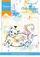 MD Clear stamps MM1611 Fat cat