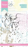 MD Clear stamps MM1607 Texture Splatters