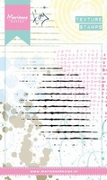 MD Clear stamps MM1604 Texture Grid