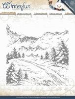 Precious Marieke's embossing folder 10009 Winterfun