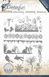 Precious Marieke's Clear Stamp PMCS10014 Winterfun