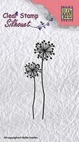 Nellie`s Choice Clearstamp CSCF004 Condoleance bloemen 4