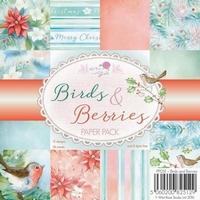 Wild Roses Studio Paper Pack PP051 Birds and Berries