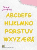 Nellie's Shape Die SD037 Alphabet