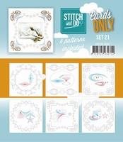 Stitch & Do Cards only COSTDO10021 set 21