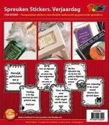 Doodey Spreuken stickers GS651861 Verjaardag
