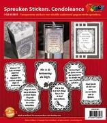 Doodey Spreuken stickers GS651851 Condoleance
