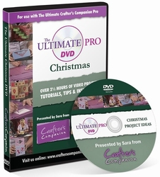 Crafter's Companion The Ultimate Pro - Christmas DVD