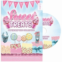 Crafter's Companion Sweet Treats PDF-Papercrafting CD-ROM