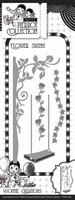 Yvonne's Die YCD10080 Pretty Pierrot Flower Swing