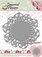 Precious Marieke's Die Seasonal Flowers PM10082 Frame