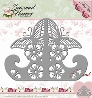 Precious Marieke's Die Seasonal Flowers PM10083 Card Stand