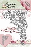 Precious Marieke's Die Seasonal Flowers PM10085 Corner/hoek