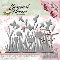 Precious Marieke's Die Seasonal Flowers PM10086 Butterflower