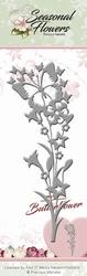 Precious Marieke's Die Seasonal Flowers PM10087 Butterflower