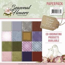 Precious Marieke's Paperpack 10013 Seasonal Flowers