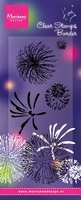 MD Clear stamps TC0845 Tiny's fireworks