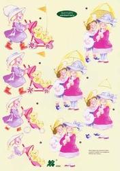 A4 Knipvel Klaver-vier 4092 Kinderen